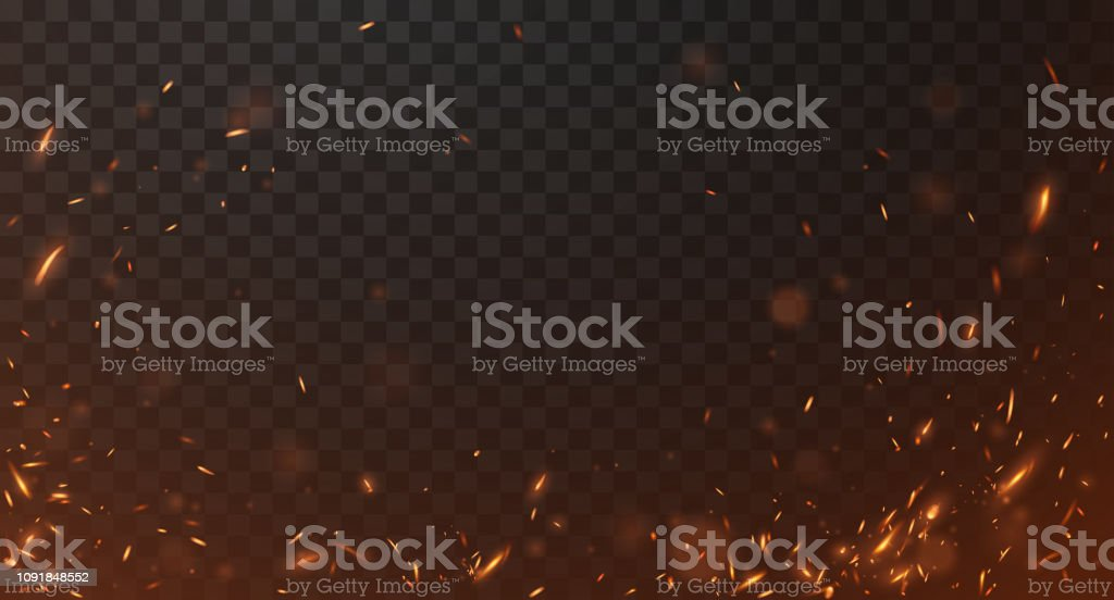 Brand gnistor bakgrund - Royaltyfri Abstrakt vektorgrafik