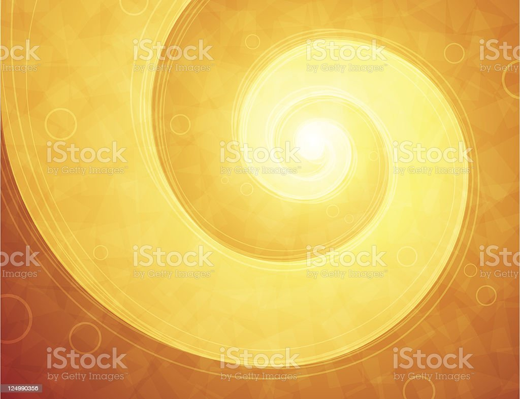 fire swirl royalty-free stock vector art