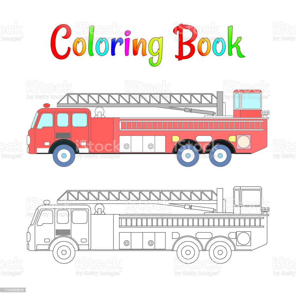 Garbage Truck Coloring Book | Truck coloring pages, Monster truck ... | 1024x1024