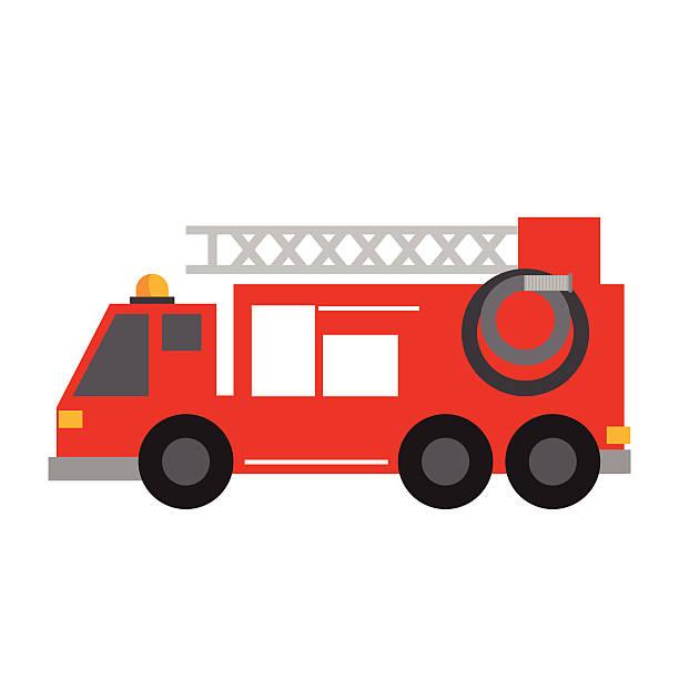 Fire truck icon Fire truck icon  fire engine stock illustrations