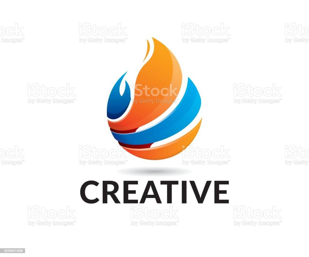 Icono de Vector de de incendios - ilustración de arte vectorial