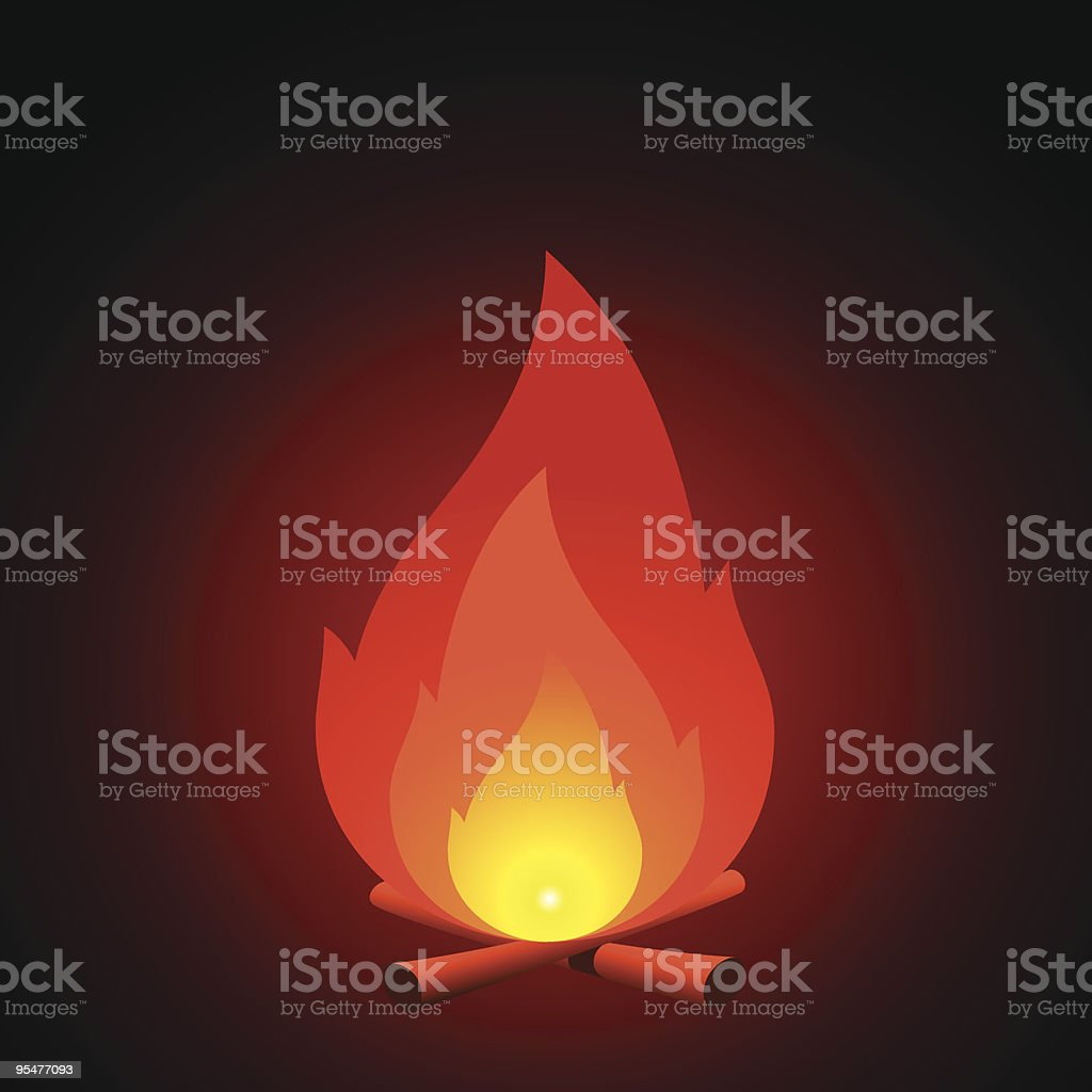 Fire royalty-free fire stock vector art & more images of burning