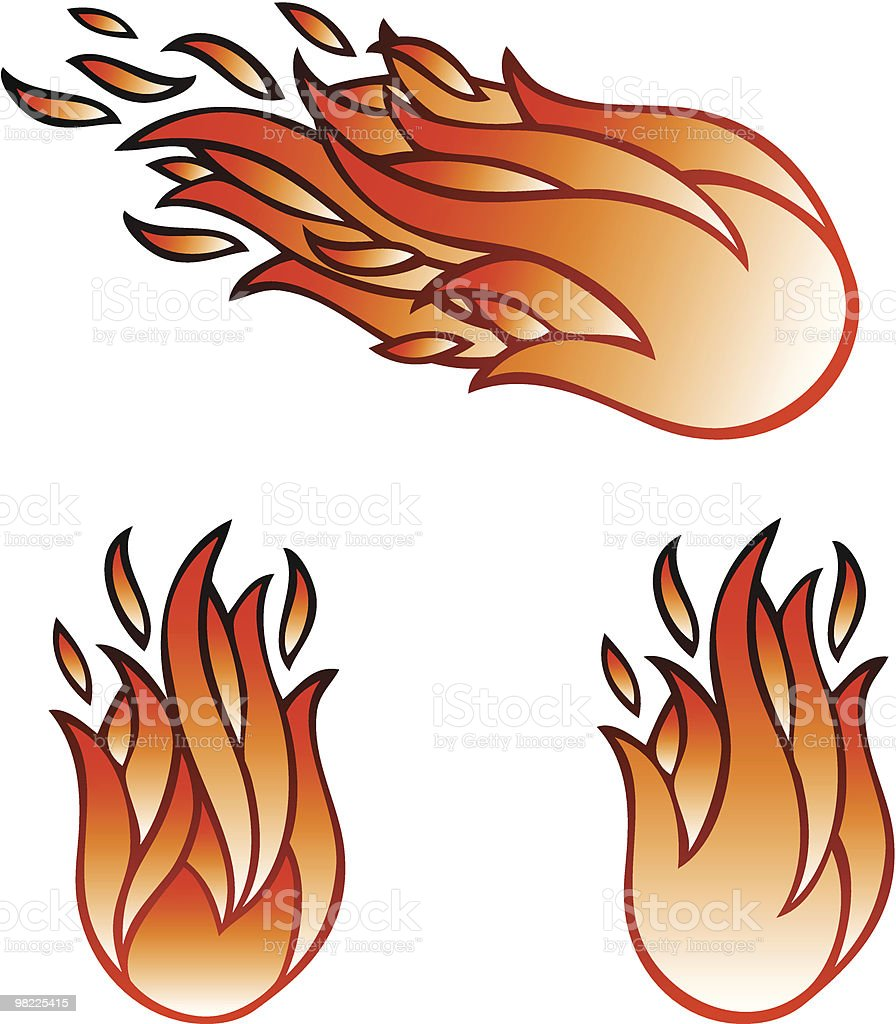 Fireball Icons royalty-free fireball icons stock vector art & more images of burning