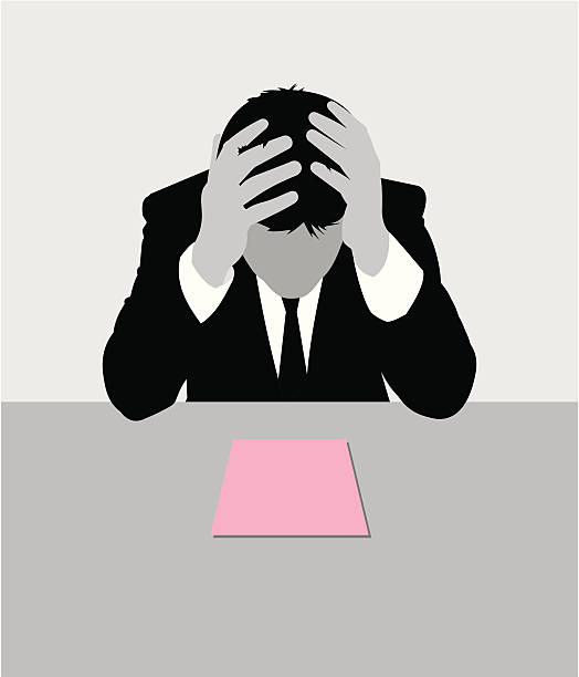fired - unemployment stock illustrations