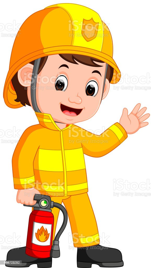 Firefighter cartoon stock vector art more images of accidents and firefighter cartoon royalty free firefighter cartoon stock vector art amp more images of accidents thecheapjerseys Choice Image