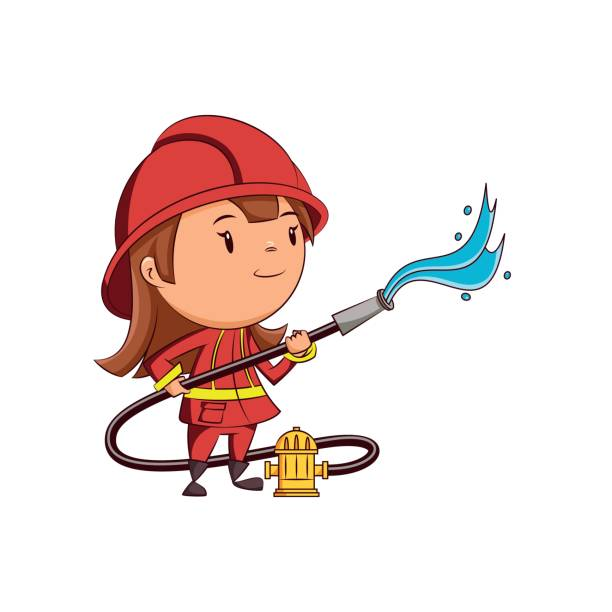 Best Playing With Fire Hydrant Illustrations Royalty Free