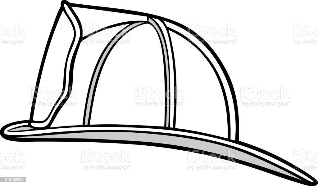 royalty free fire helmet clip art vector images illustrations rh istockphoto com  fire helmet clip art images
