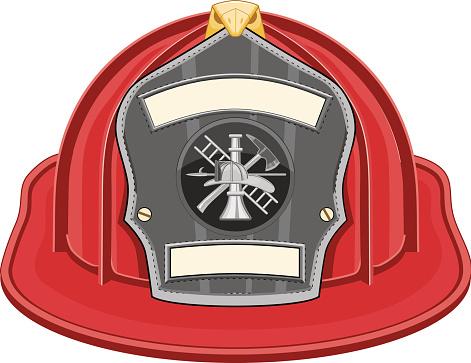Firefighter Helmet Red