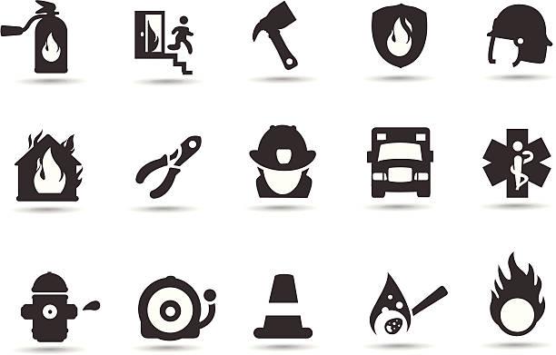 消防士のアイコン - 消防士点のイラスト素材/クリップアート素材/マンガ素材/アイコン素材