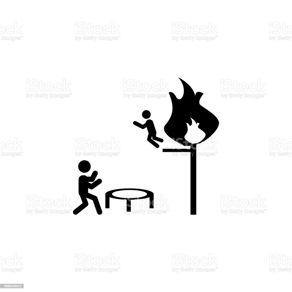 Fire Element Symbol Outline Wiring Diagrams Dilznoofus39s Tessellation Book Firefighter Save From A Icon Fireman Premium Rh Istockphoto Com 5 Elements Of Nature Symbols Wind