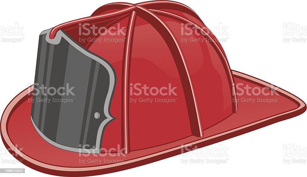 royalty free fire helmet clip art vector images illustrations rh istockphoto com fire hat clipart black and white fire hat clipart free