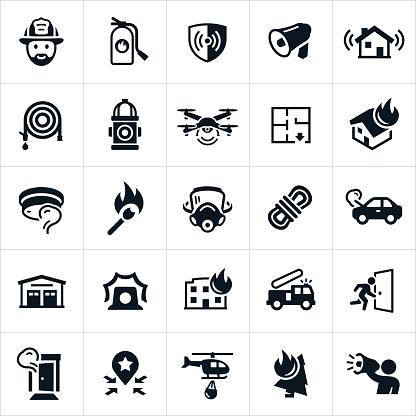 Firefighting Icons