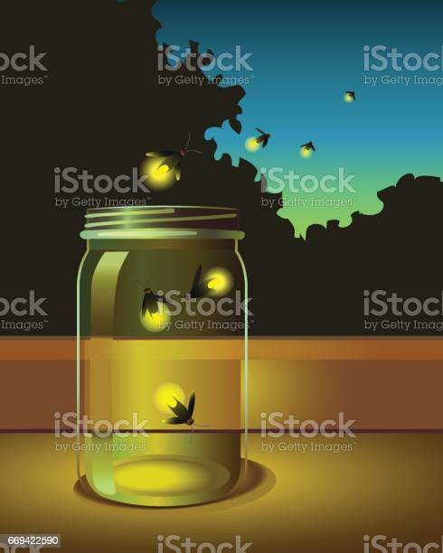 Fireflies escaping from a glass jar into the night vector id669422590?b=1&k=6&m=669422590&s=612x612&h=4ltyewveqkggsv4itrojxcuqramu64hsz68w1ohshdw=