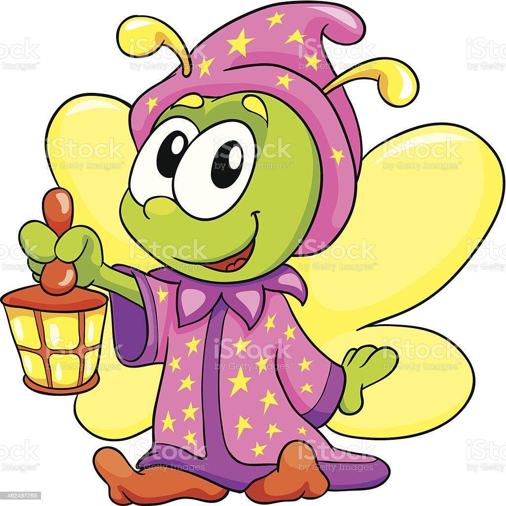Cute Firefly Clipart