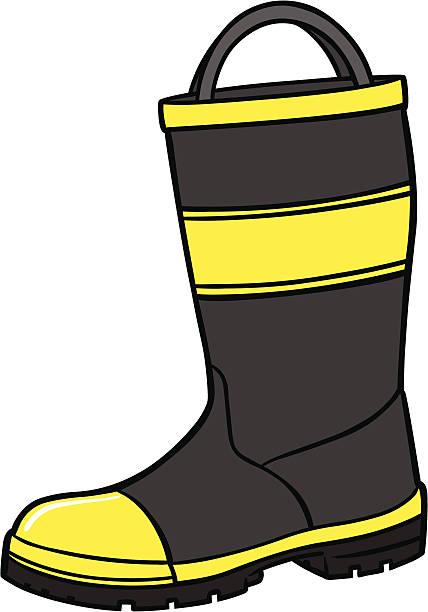 Black Firefighter Shoes