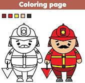 Coloring Page For Kids Stock Vector Art & More Images of Activity ...