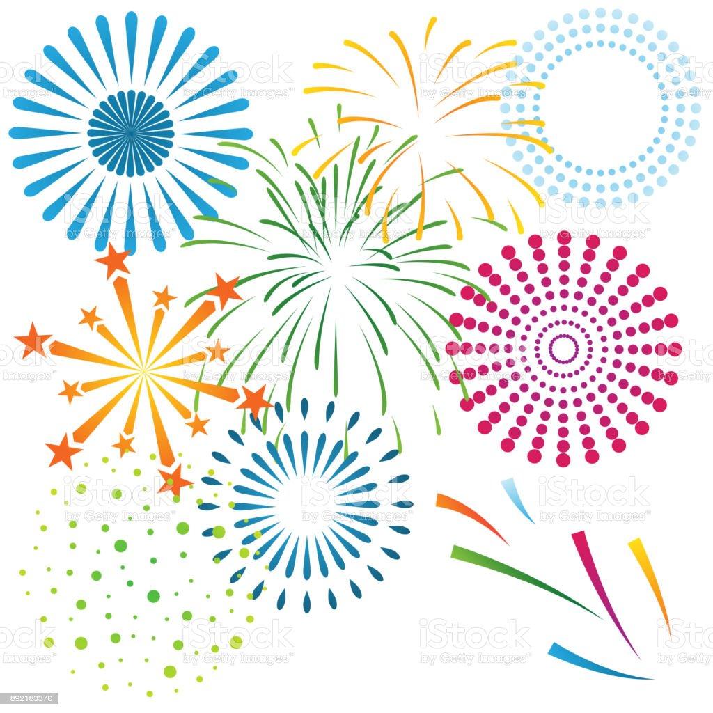 firework celebration happy new year 2018 royalty free firework celebration happy new year 2018