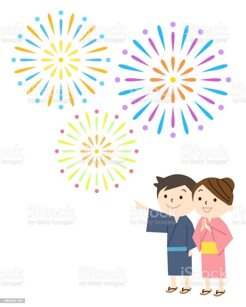 fireworks and children fireworks and children - stockowe grafiki wektorowe i więcej obrazów dziecko royalty-free