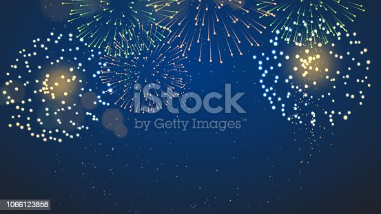 Fireworks and Crackers vector illustration