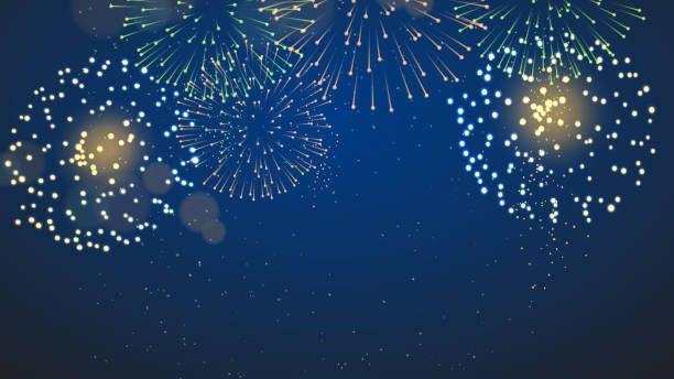 Fireworks and Crackers vector illustration Fireworks and Crackers vector illustration fireworks stock illustrations