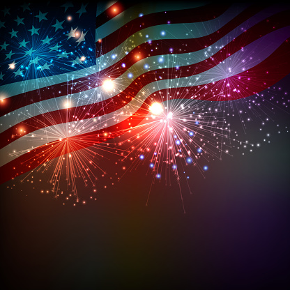 4th of July stock illustrations