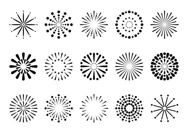 ilustrações de stock, clip art, desenhos animados e ícones de fireworks display - alegria