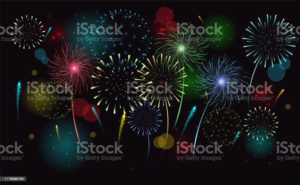 Free Fireworks Free Clip Art with No Background - ClipartKey