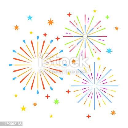 istock Fireworks 1170962136