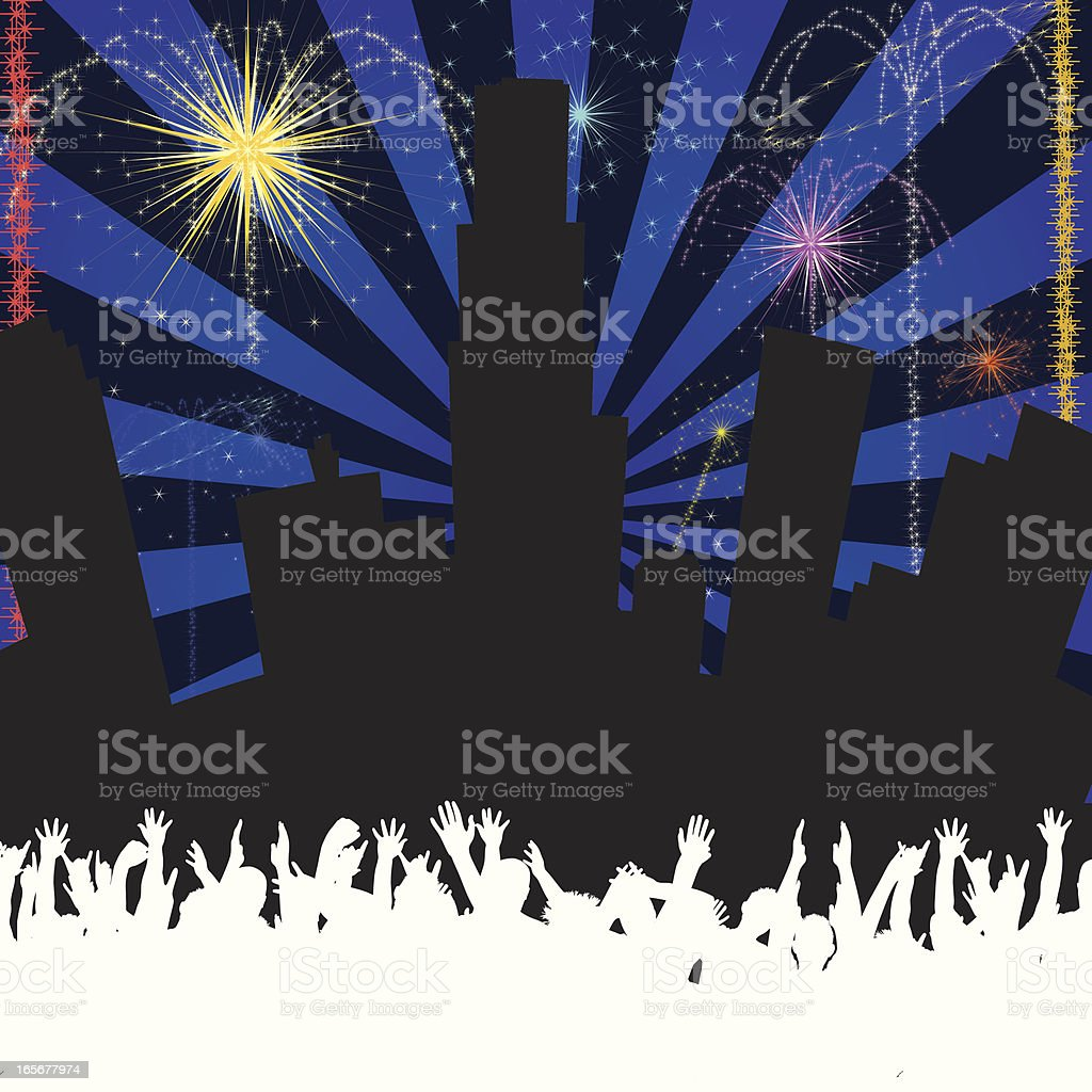 Fireworks royalty-free fireworks stock vector art & more images of celebration event