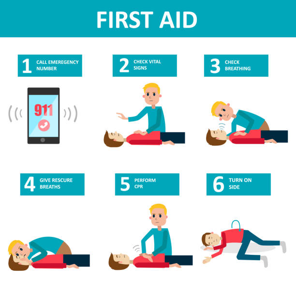 first aid banner. - first aid stock illustrations, clip art, cartoons, & icons