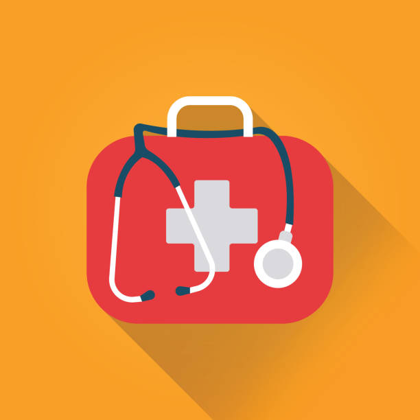 First Aid Flat Icon First Aid Flat Icon medical condition stock illustrations