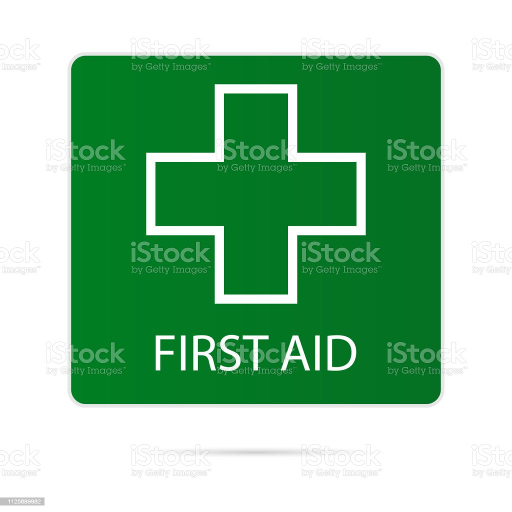 First Aid Icon Medical Symbol Vector Vector Stock Illustration