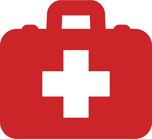first aid icon - first aid stock illustrations, clip art, cartoons, & icons