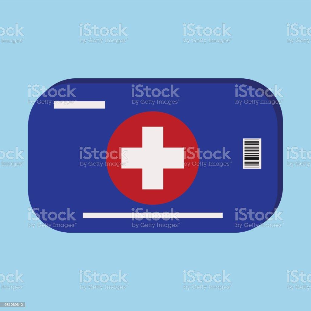 First aid kit icon.Ambulance emergency kit, medical box. royalty-free first aid kit iconambulance emergency kit medical box stock vector art & more images of ambulance