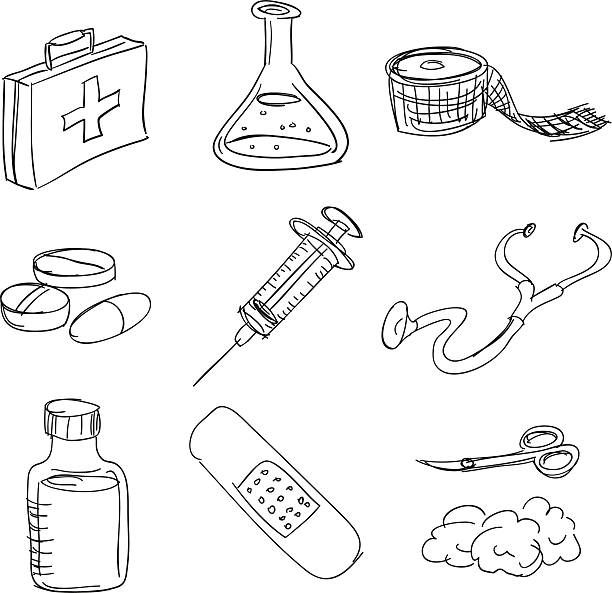 Royalty Free Compression Bandage Clip Art, Vector Images