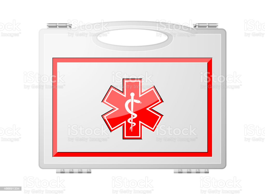 Erstehilfeset Medizinische Geräte Vektor Illustration 466691334 | iStock
