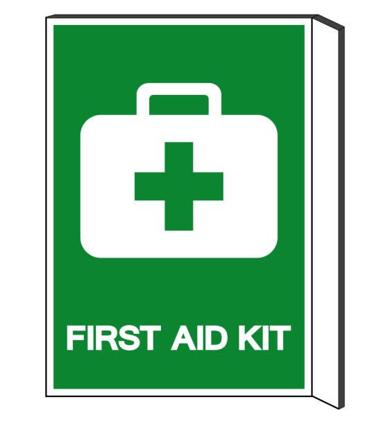 First Aid Kit Symbol Sign, Vector Illustration, Isolate On White Background Label. EPS10 vector art illustration