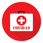 istock COVID-19 First Aid Kit 1213780528