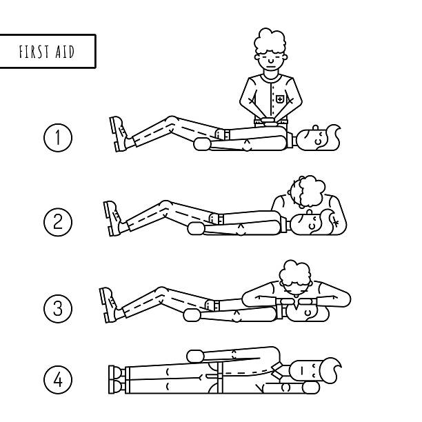 Best First Aid Training Illustrations, Royalty-Free Vector