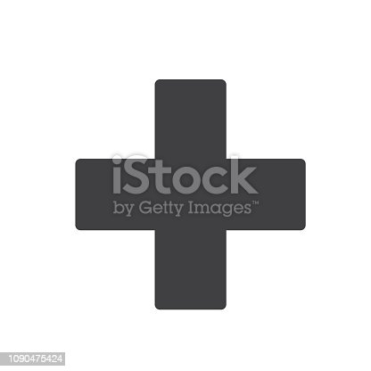 istock First Aid Sign Icon Vector Design 1090475424