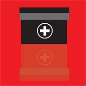 First Aid Vector First Aid Background Stock Illustration - Download