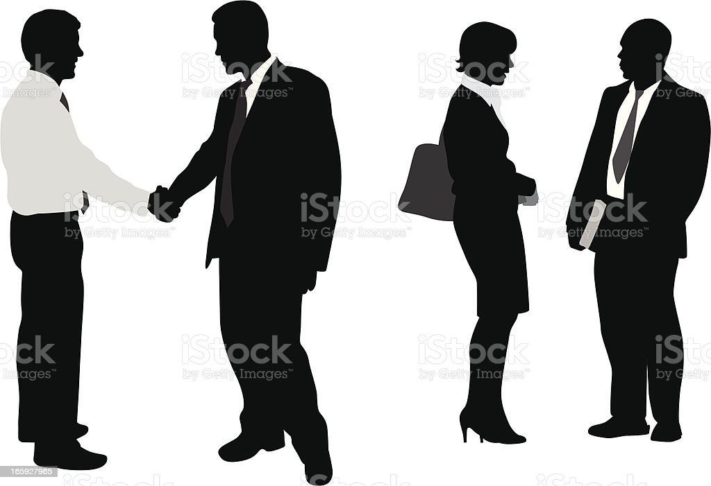 First Contact Vector Silhouette royalty-free first contact vector silhouette stock vector art & more images of adult
