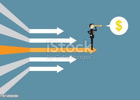 Chart, Currency, Directional Sign, Arrow Symbol, Business