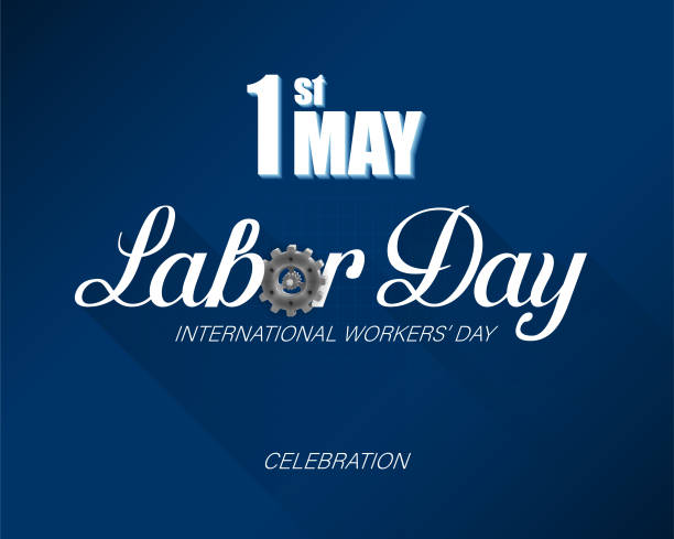 first may, international labor day celebration - may day stock illustrations, clip art, cartoons, & icons