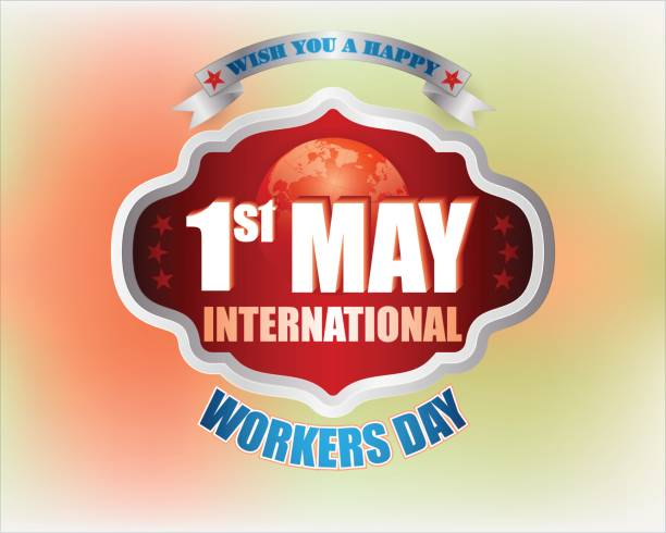 first may, international workers day, holiday - may day stock illustrations, clip art, cartoons, & icons