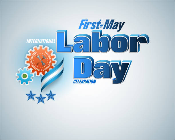 first may, labor day celebration - may day stock illustrations, clip art, cartoons, & icons