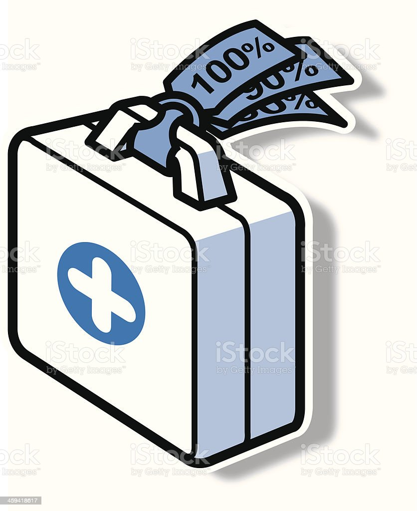 first-aid box royalty-free firstaid box stock vector art & more images of accidents and disasters
