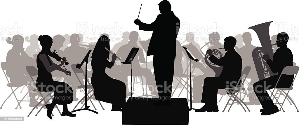royalty free orchestra clip art vector images illustrations istock rh istockphoto com orchestra clip art free clipart orchestra instruments