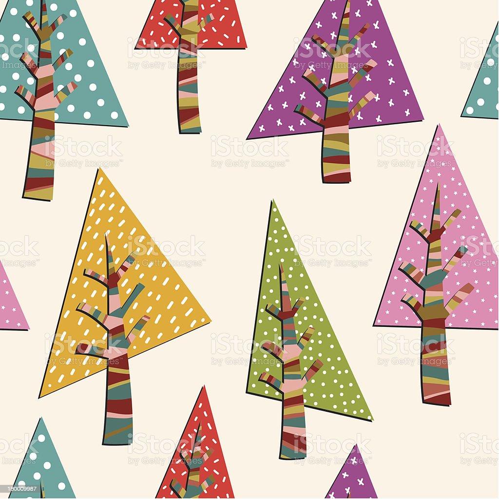 Firtrees 연속무늬 royalty-free firtrees 연속무늬 0명에 대한 스톡 벡터 아트 및 기타 이미지