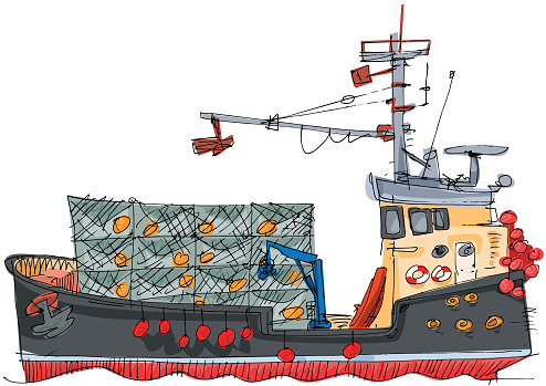 Download Crab Fishing Boat Clipart Vector In Ai Svg Eps Or Psd